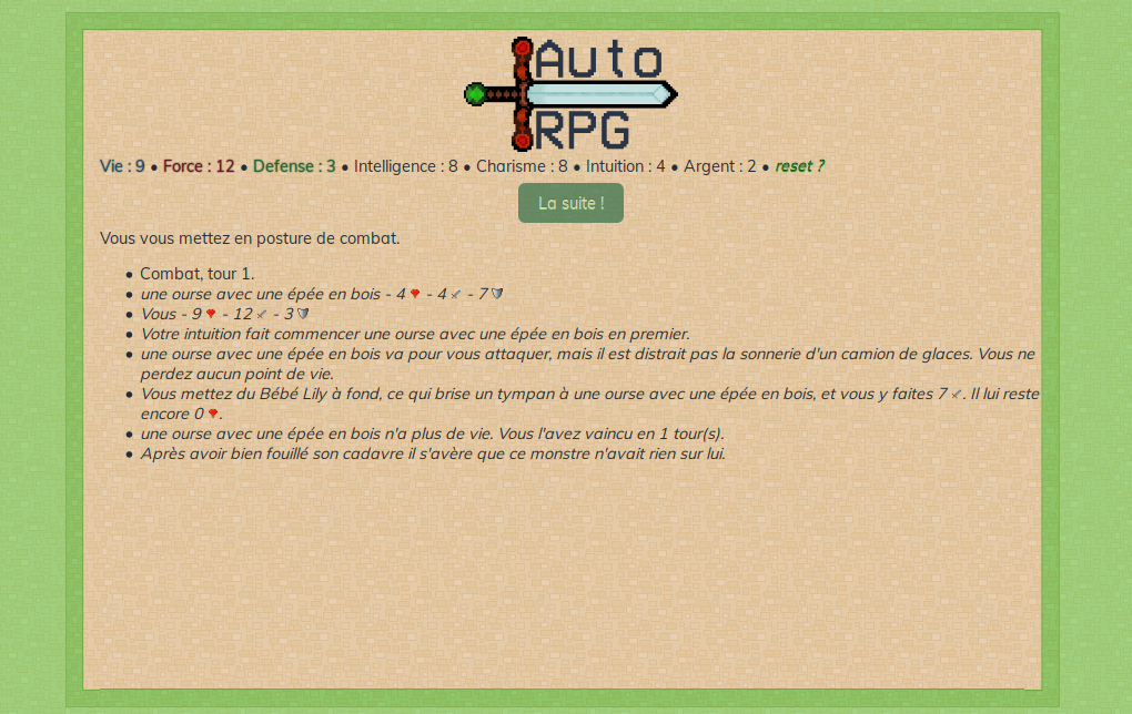 screenshot autorpg