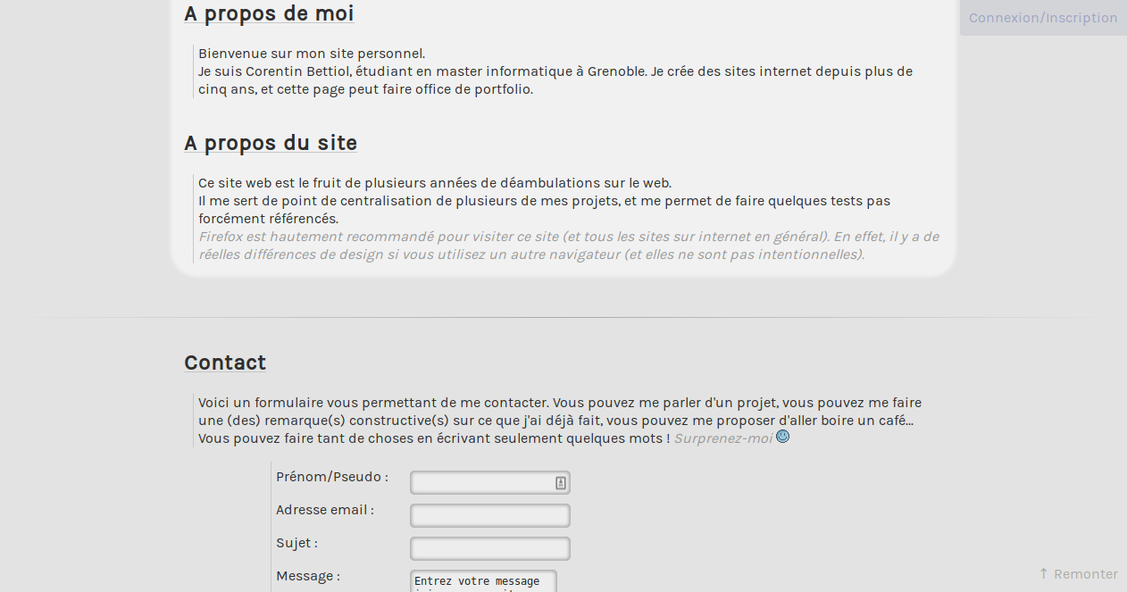 screenshot projet l3m.in