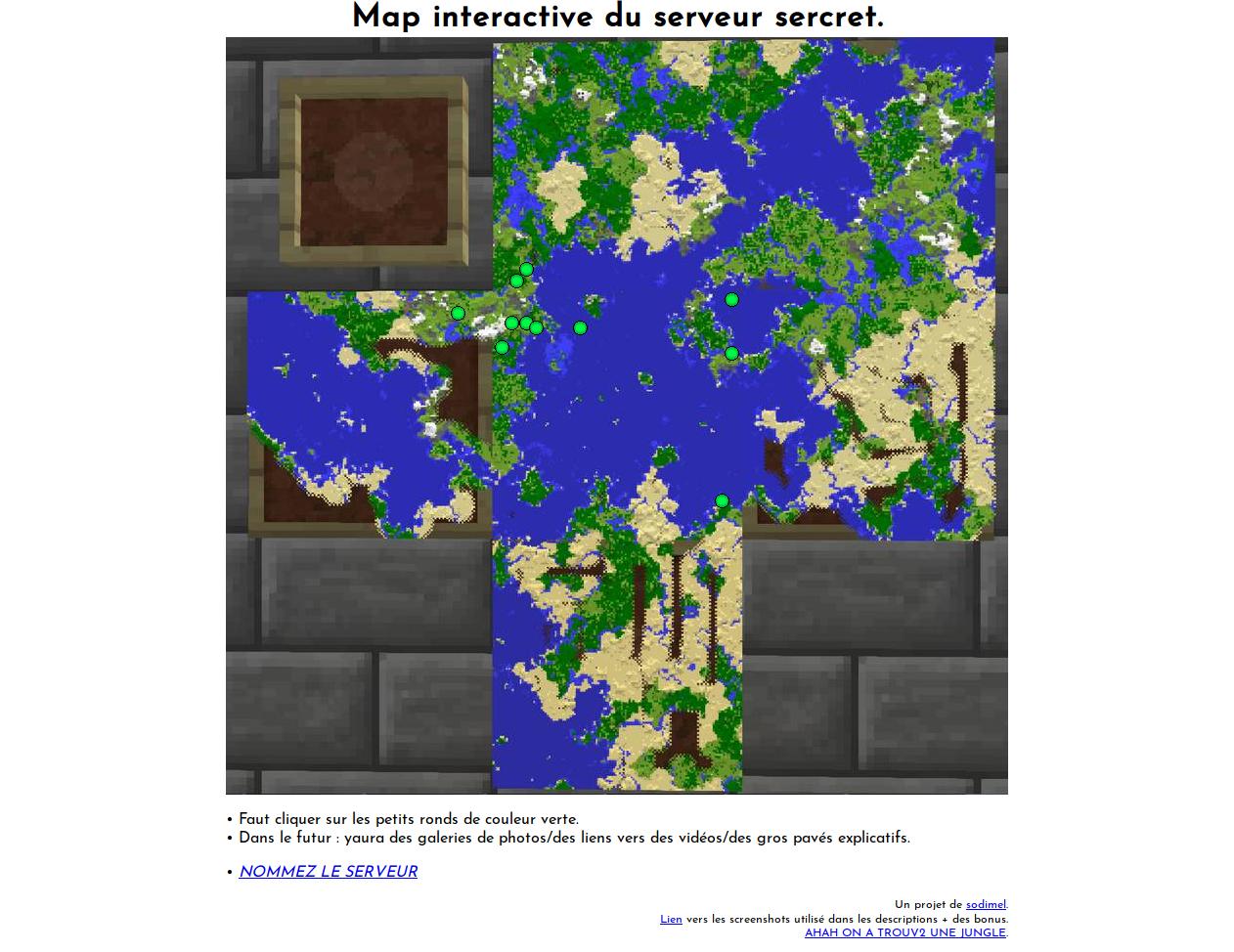 screenshot projet mc