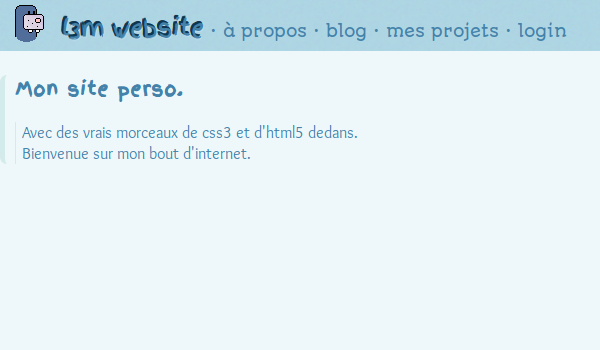 screenshot projet new
