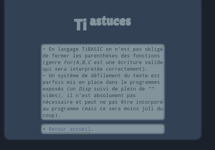 screenshot projet ti