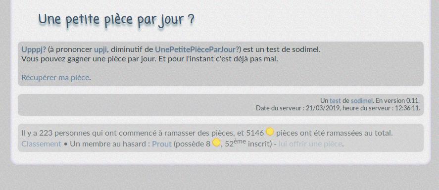 screenshot projet upppj
