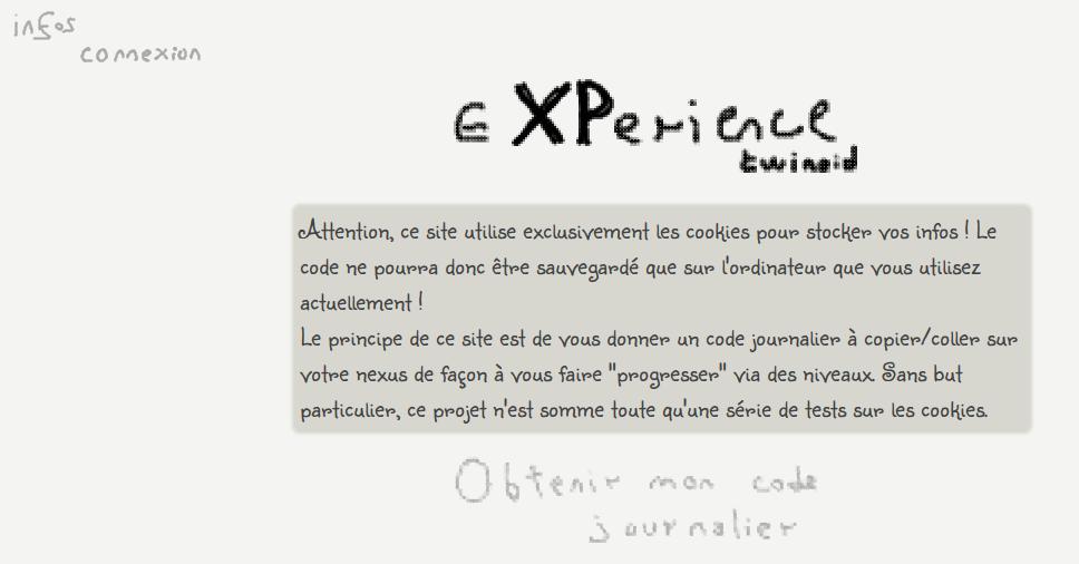 screenshot projet xp
