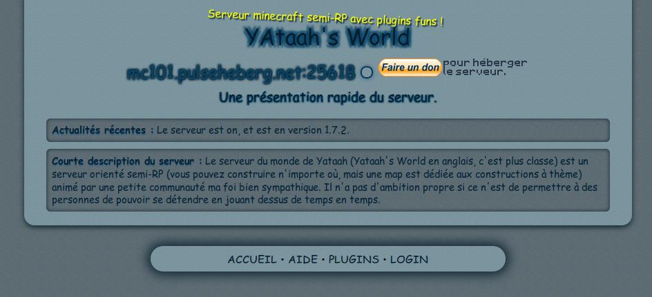 screenshot projet yataah